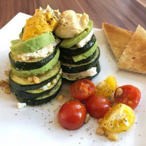 Gemüse Türmchen
